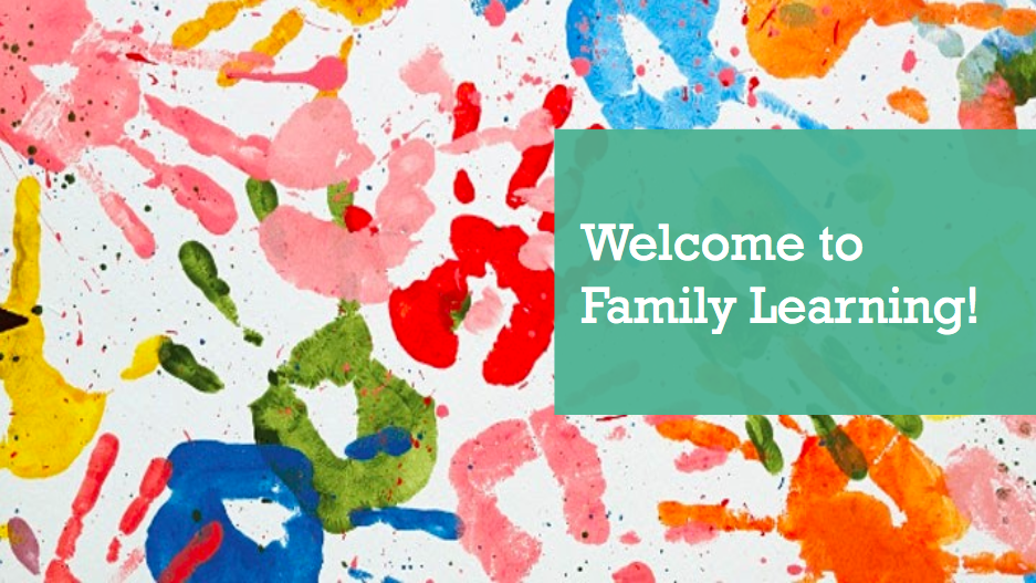 Welcome to Family Learning