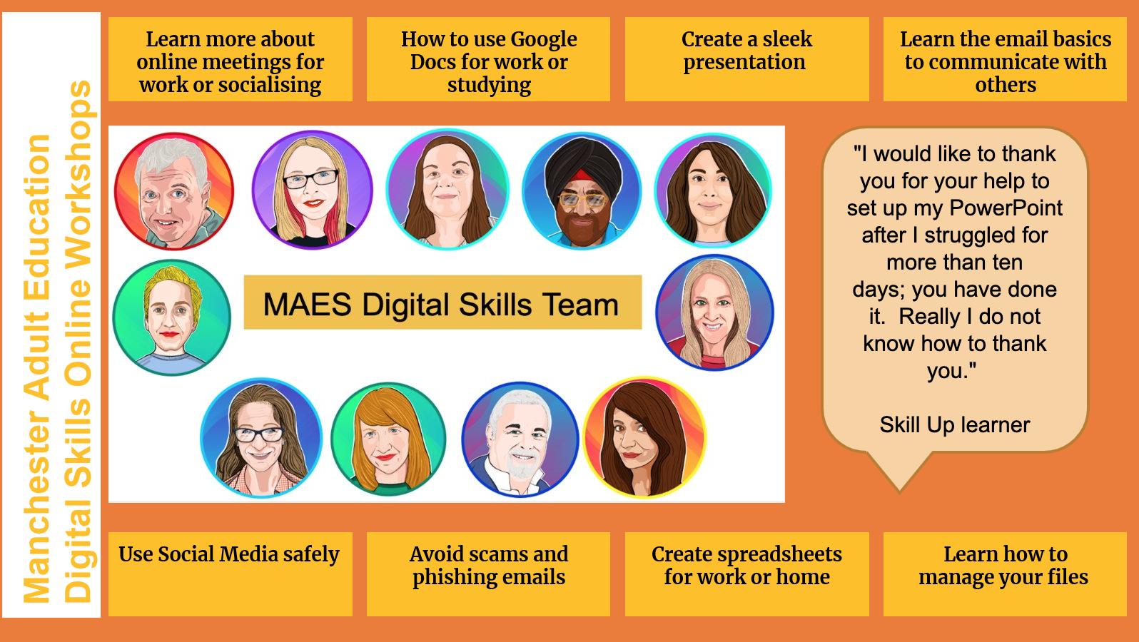 Digital Skills Online Workshops